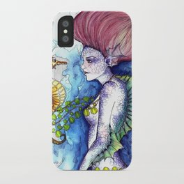 the seahorse's friend iPhone Case
