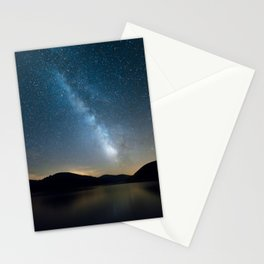 The milky way Stationery Cards