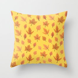 Hi Autumn Throw Pillow