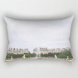 Summer at the Jardin de Tuileries, Paris, France Rectangular Pillow