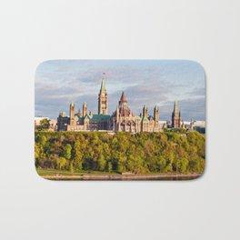 Parliament Hill, in Ottawa Bath Mat