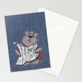 A Geeky Marmot Stationery Cards