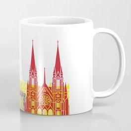 Strasbourg skyline pop Coffee Mug