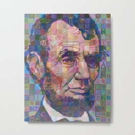 Abraham Lincoln No. 2 Metal Print