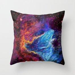 Galaxy Dream in space Throw Pillow