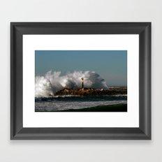 Blast Wave Framed Art Print
