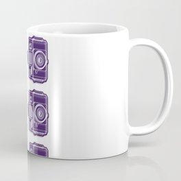 I Still Shoot Film Holga Logo - Deep Purple Coffee Mug