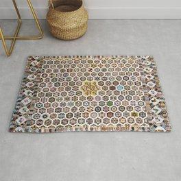 Floral Fabric Vintage Gift Pattern #20 Rug