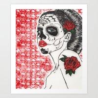 La Calavera Katrina Art Print