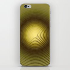 Top Circles  iPhone & iPod Skin