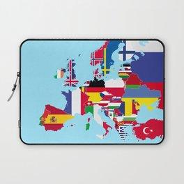 Europe flags Laptop Sleeve