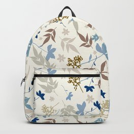 Bauhaus Floral Backpack