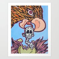 Eat Your Young Art Print