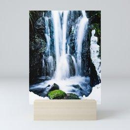 Early Spring Waterfall Mini Art Print