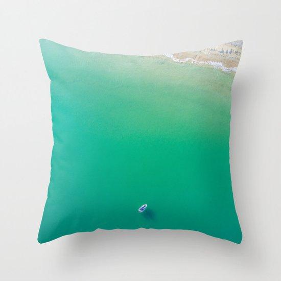 Summer Solitude Throw Pillow