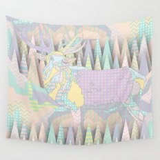 Deer Forest Wall Tapestry