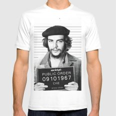Public Order Che Guevara Mens Fitted Tee LARGE White