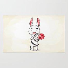 Bunny Flower Rug