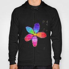 Rainbow Flower Hoody
