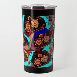 A Steampunk Factory Machine Guide Travel Mug