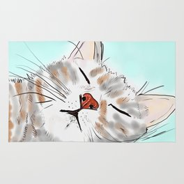 Sweet Dreams Kitty Rug