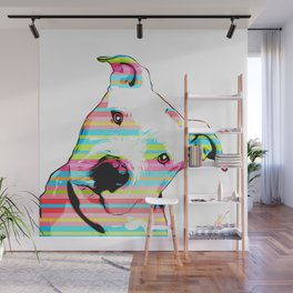 Pit Bull | Pop Art Wall Mural
