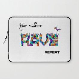 Eat Sleep RAVE Repeat Laptop Sleeve
