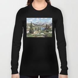 Wyoming Summer Long Sleeve T-shirt