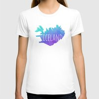 iceland T-shirts featuring Iceland by Stephanie Wittenburg