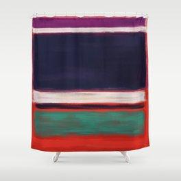 Rothko Inspired #12 Shower Curtain