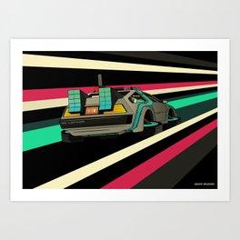 Time Flux - Remastered Art Print