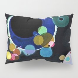 Planets & Moons (Several Circles) by Wassily Kandinsky Pillow Sham