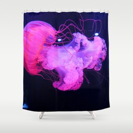 Pink Jelly Shower Curtain
