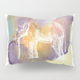 Color Spot Safari Elephant Pillow Sham