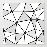 origami Canvas Prints featuring origami by themicromentalist