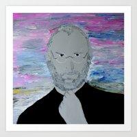 steve jobs Art Prints featuring Steve Jobs by Felix Zekveld