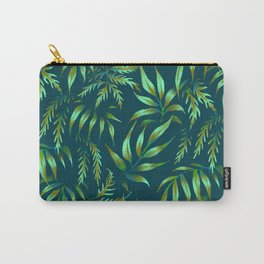 Brooklyn Forest - Green Carry-All Pouch