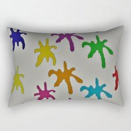 Dirty Splatt Rectangular Pillow