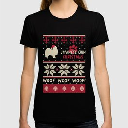Japanese Chin christmas gift t-shirt for dog lovers T-shirt