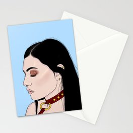 Collar Stationery Cards