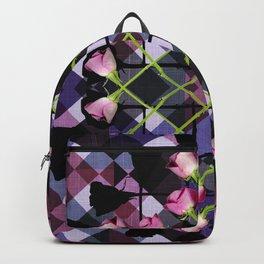 Retro Rose Box Backpack