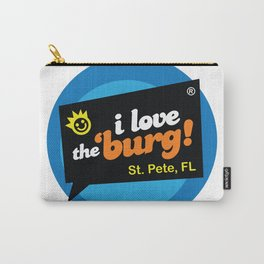 I Love the Burg St. Pete Carry-All Pouch