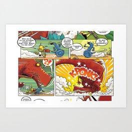 dino_page Art Print