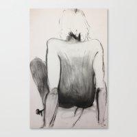 jasmine Canvas Prints featuring Jasmine by Helen Syron
