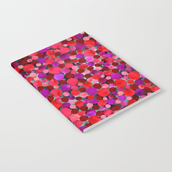 Confetti Pattern 06 Notebook