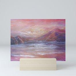 Landscape in Pink MM150601 Mini Art Print