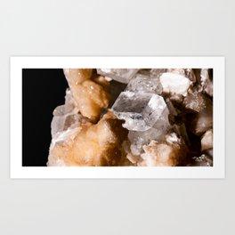 Calcite - 4 Art Print