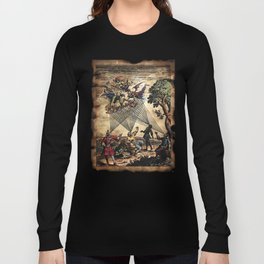 Medieval Minstrel Spirits Long Sleeve T-shirt