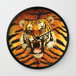 Tiger Roar's Wall Clock