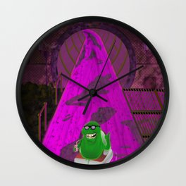 River of Slime Wall Clock